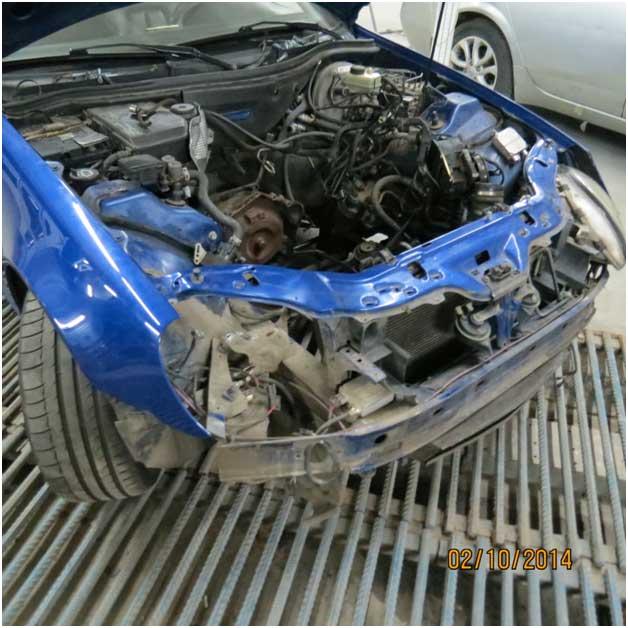Кузовной ремонт mercedes