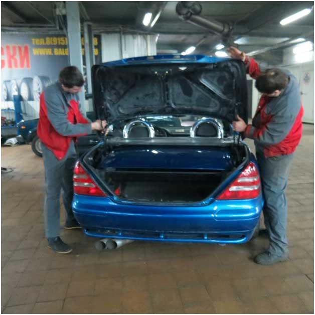 кузовной ремонт и покраска кузова